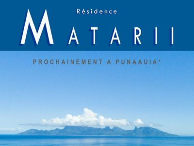 Appartements neufs Residence Matarii Punaauia